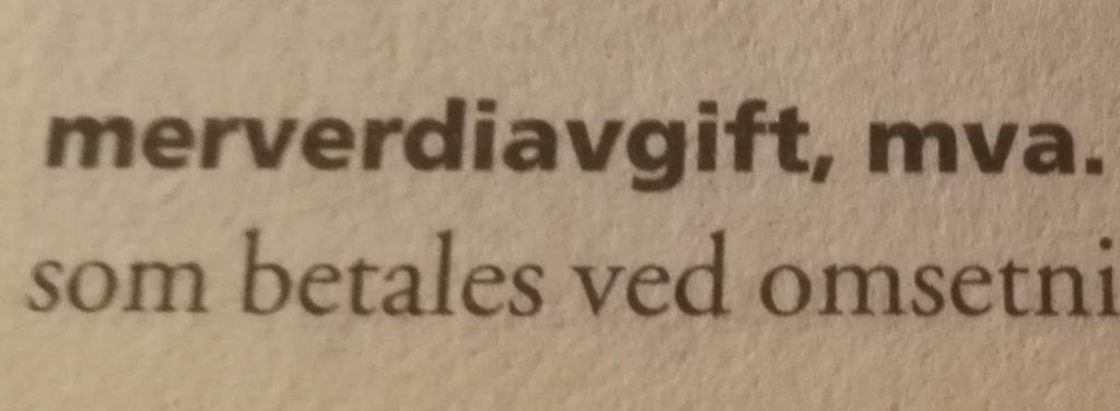 Norwegia VAT